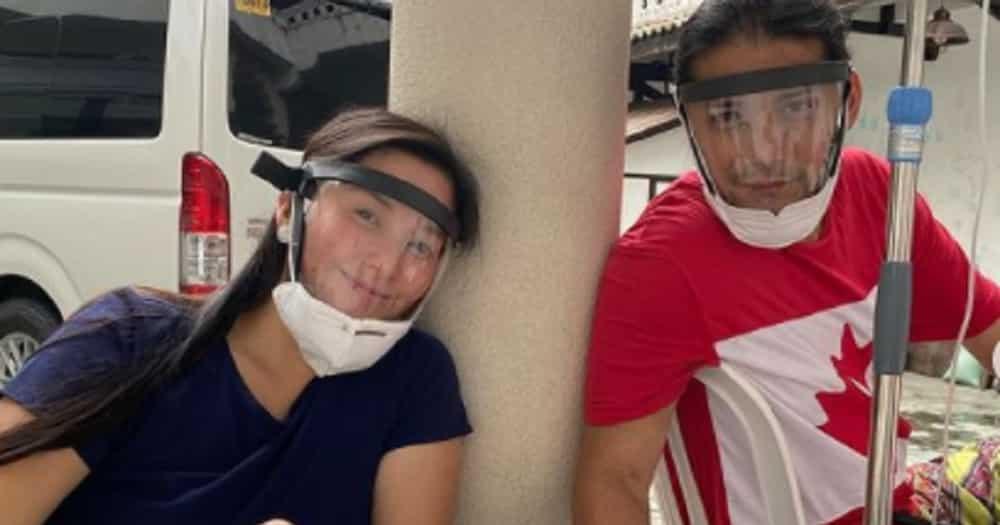 Robin at Mariel Padilla, nagpa IV treatment sa bahay bilang date nila