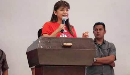 Video of Imee Marcos commeting on Kris Aquino's performance in Crazy Rich Asians
