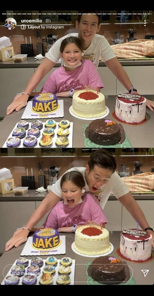 Jake Ejercito posts adorable birthday selfie with daughter Ellie Eigenmann