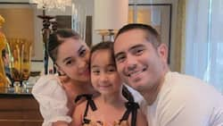 """Scarlet Snow Belo calls Gerald Anderson, Julia Barretto her """"daddy and mommy"""""""