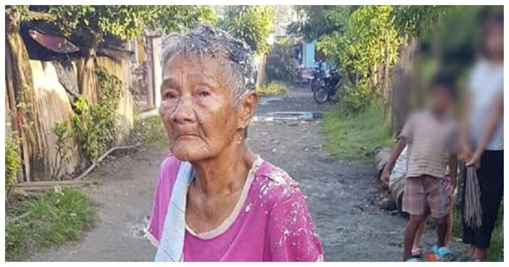 85-anyos na ina, di umano'y tinapunan ng anak ng pagkain ng baboy