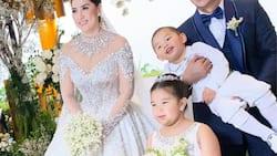 Ara Mina, Dave Almarinez, nagpakuha ng larawan ng kanilang blended family