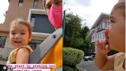 "Video of Thylane Bolzico saying ""Tili Katana"", counting 1-10 & communicating with dog goes viral"