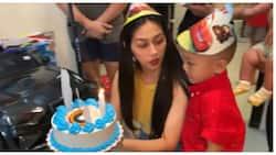 Zeinab Harake, sinurpresa ang kanyang 'Baby Lucas' sa 4th birthday nito