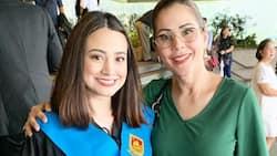 Maritoni Fernandez' daughter Lexi graduates from college