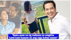 Kaye Abad gets asked about ex-boyfriend John Lloyd Cruz