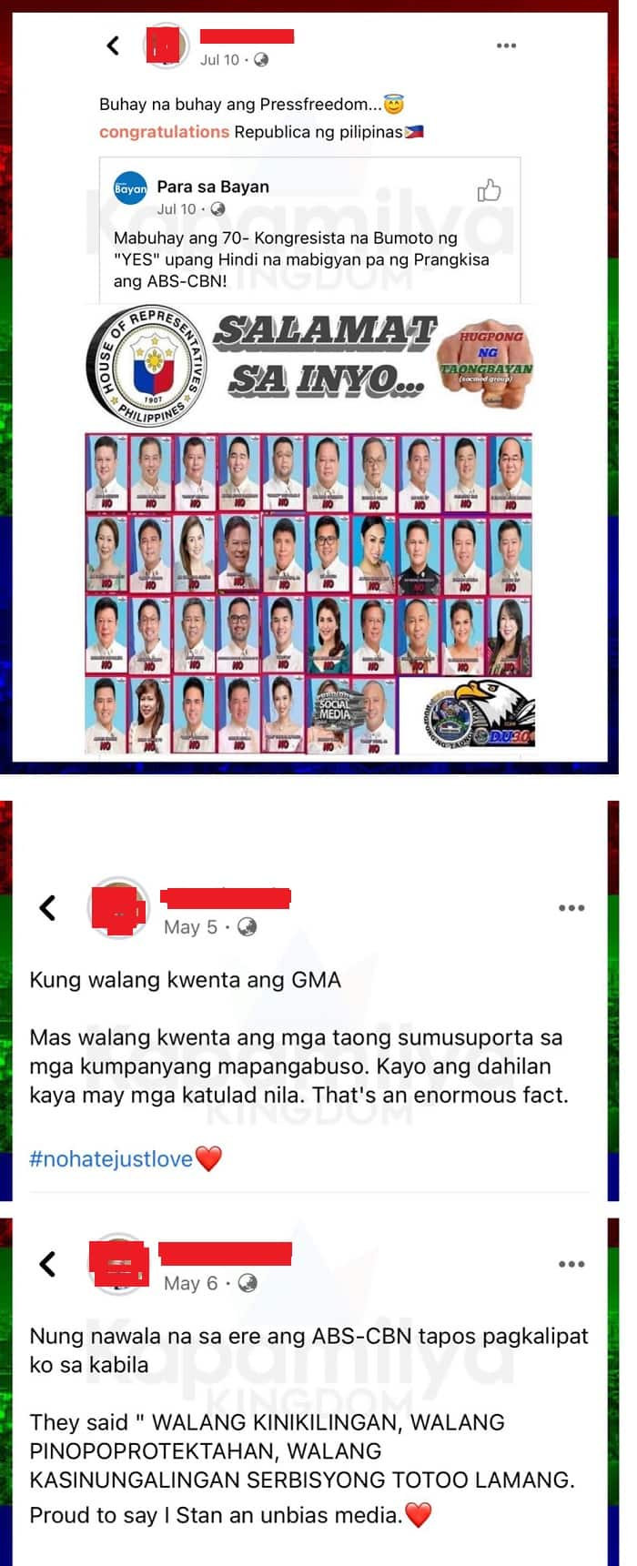 Ogie Diaz calls out new PBB auditionee who celebrated ABS-CBN shutdown