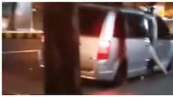 Puwersahang pagsakay ng sumisigaw na babae sa van, sapul sa video