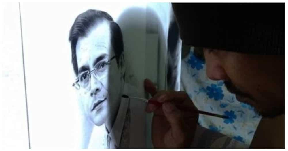 Mayor Isko, iginuhit ng isang portrait artist sa Rizal para sa kanyang kaarawan