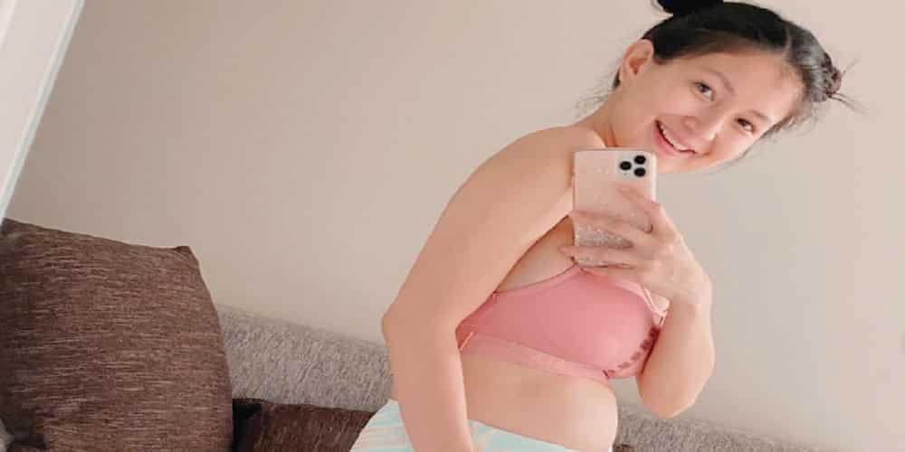 Sheena Halili flaunts her baby bump; celebrities react