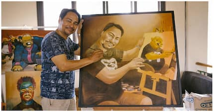 "The man behind the famous comic ""Pugad baboy"""