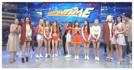 Netizens, nadismaya sa ilang mainstays ng It's Showtime dahil sa pagpapapicture lang kay Nancy ng Momoland