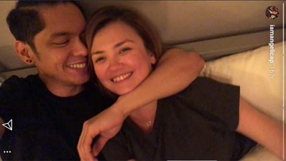 Galawang mag dyowa? Angelica Panganiban posts cozy photos with Carlo Aquino