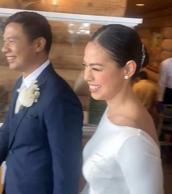 Bettina Carlos, Mikki Eduardo now happily married