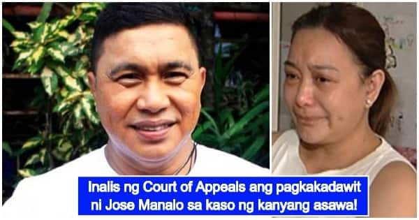 Court Of Appeals Clears Jose Manalo's Involvement In Wife