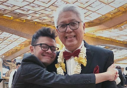 Paolo Valenciano gets ecstatic over Ryan Cayabyab being named as a National Artist