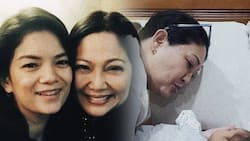 Meryll Soriano shares photos of Maricel Soriano spending time with her baby with Joem
