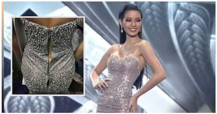 Sinabotahe? Jehza Huelar walked the Miss Supranational 2018 pageant stage wearing a ripped gown