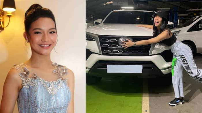 """'Prima Donnas' star Althea Ablan, ipinasilip ang nabili niyang """"dream car"""""""