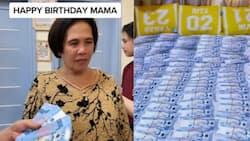 Video ng ina na nakatanggap ng Php 1 million bilang birthday gift ng anak, viral