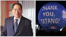 SM Mall of Asia globe lights up to honor 'Tatang' Henry Sy Sr.