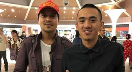 John Lloyd Cruz spotted in a mall after watching a movie