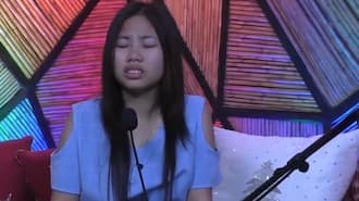 PBB Otso emotional moment: Lie cries hard after learning about nomination