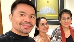 Annabelle Rama, naki-dinner sa mansion nila Jinkee at Manny Pacquiao