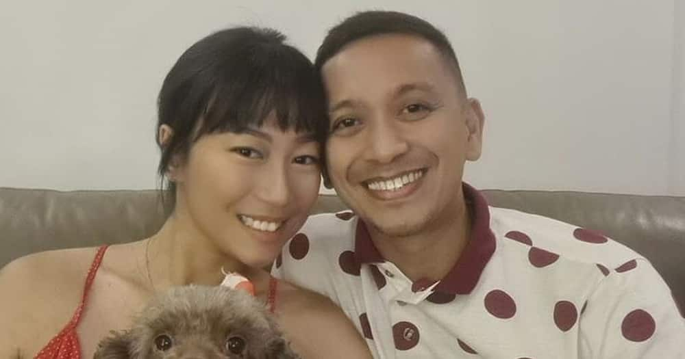 Jhong Hilario welcomes daughter Sarina to the Christian world