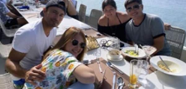 New photos of Ellen Adarna and son Elias with Derek Ramsay and family, viral