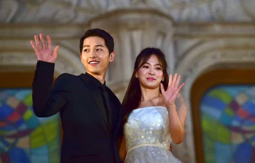 Song Joong Ki wedding