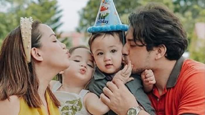 Geoff Eigenmann & partner throw epic 1st birthday party at home for their son