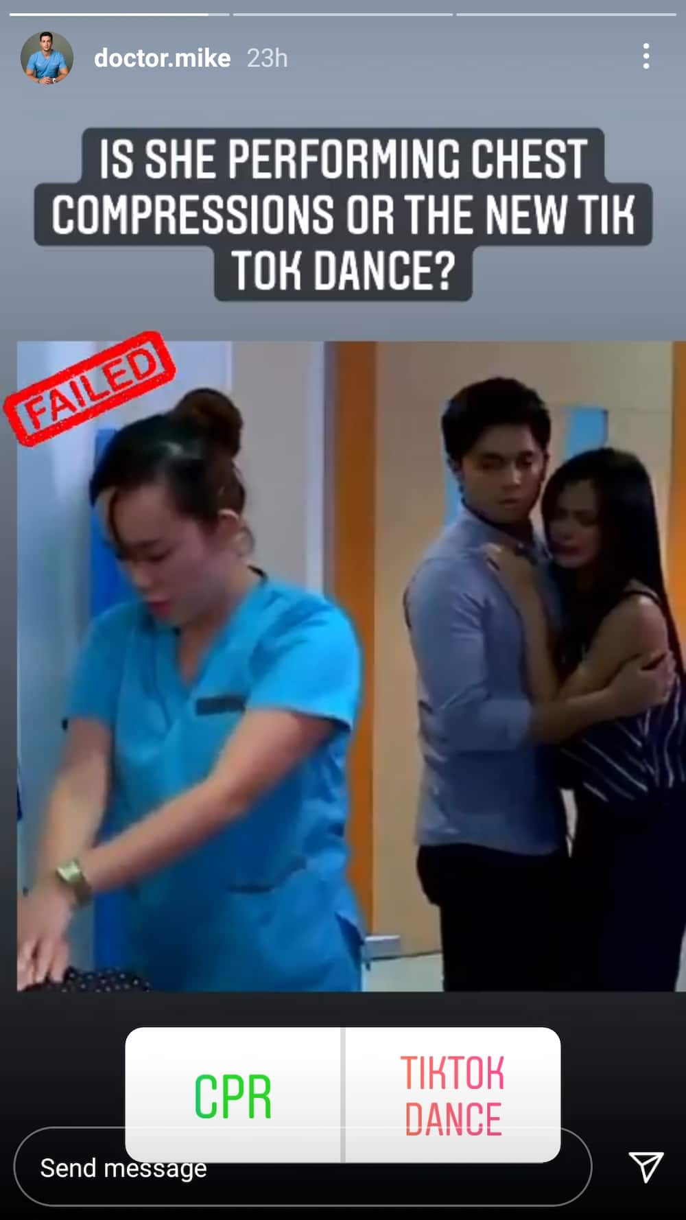 CPR scene sa teleseryeng 'Kambal Karibal', pinuna ng American internet celebrity