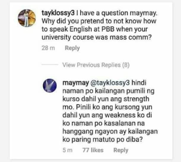 Todo support kay jowa! Edward Barber posts message supporting Maymay Entrata against basher