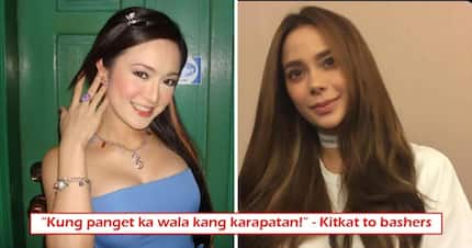 'Mang-bash pag mas maganda ka ha!' Kitkat fiercely defends Arci Muñoz against bashers who call her 'retokada'