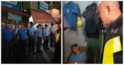 Huling-huli sa akto! Police chief and other policemen in 3 police stations got caught drinking and sleeping while on duty