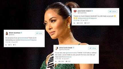 Celebrities express love and support to Maxine Medina despite falling short in top 3