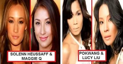 Kalokalike talaga! These 9 Filipina celebrities are doppelgangers of famous Hollywood stars!