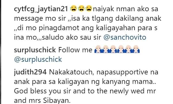 """Sabi mo nuon ""Anak ayoko ng mag boyfriend.."" Sancho Vito posts an emotional message for mom Aiai Delas Alas"