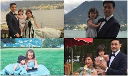 Scarlet Snow turns heads during big sis' wedding day in Italy