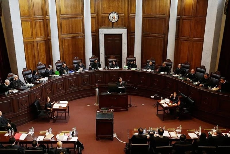5 Supreme Court justices dissent upholding 1-year extension of Martial Law in Mindanao
