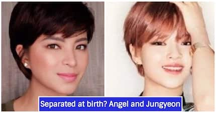Separated at birth? K-Pop star Jungyeon goes viral for looking a lot like Angel Locsin
