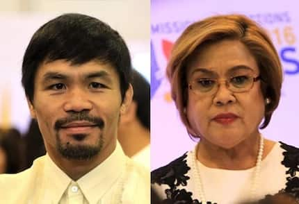 Pacquiao boldly ousts helpless De Lima as justice committee chair