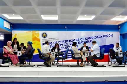 Halalan 2019: Senatorial candidates na nag-file ng COC