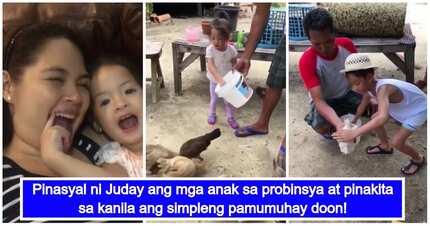 Dapat tularan! Judy Ann Santos, ipinaranas sa mga anak ang buhay probinsya