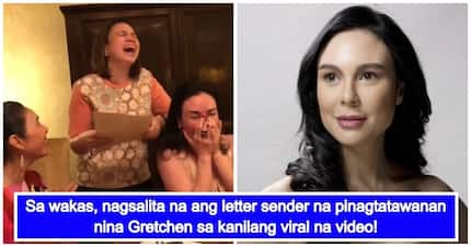 Na-hurt ba siya? Letter sender involved in Gretchen Barretto and friends' viral video finally speaks up