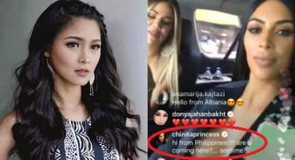 Kim Chiu gets noticed by Hollywood stars Kim and Khloe Kardashian and she's freaking out