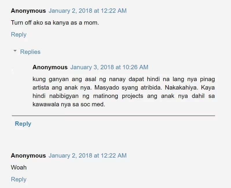 """May ganun? Janella Salvador's mom furious over """"gate crasher"""" in family reunions?"""