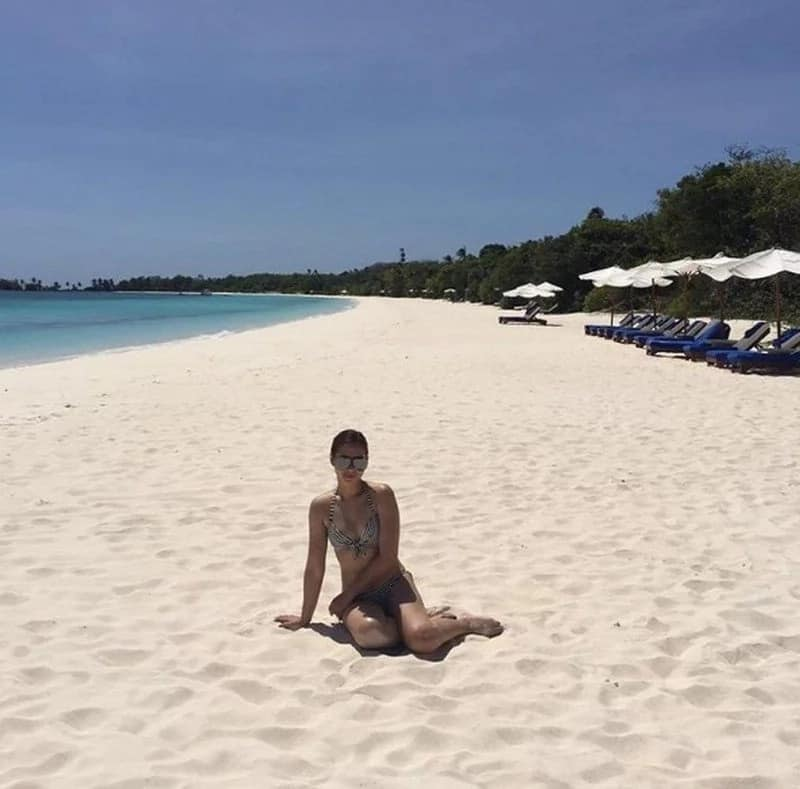 These photos make many women envious of Maja Salvador
