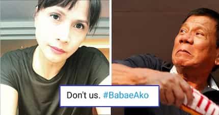 'Don't us!' Netizens back Agot Isidro in slamming Pres. Duterte's insulting comment against women